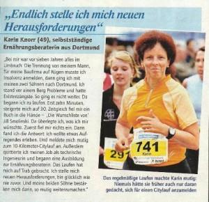 Karin in der Fernsehwoche Nr 10